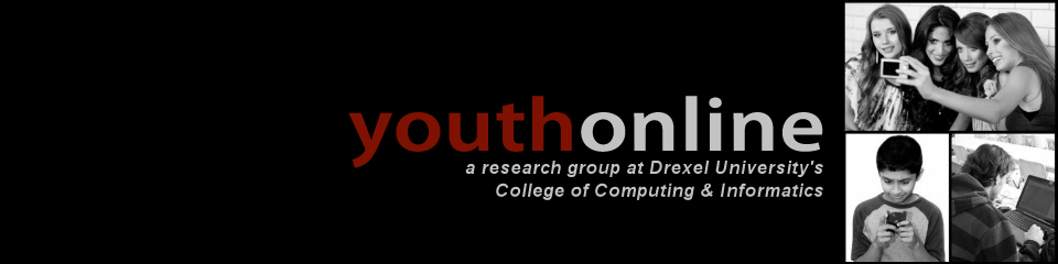 youth online, a research group at Drexel University's College of Computing and Informatics